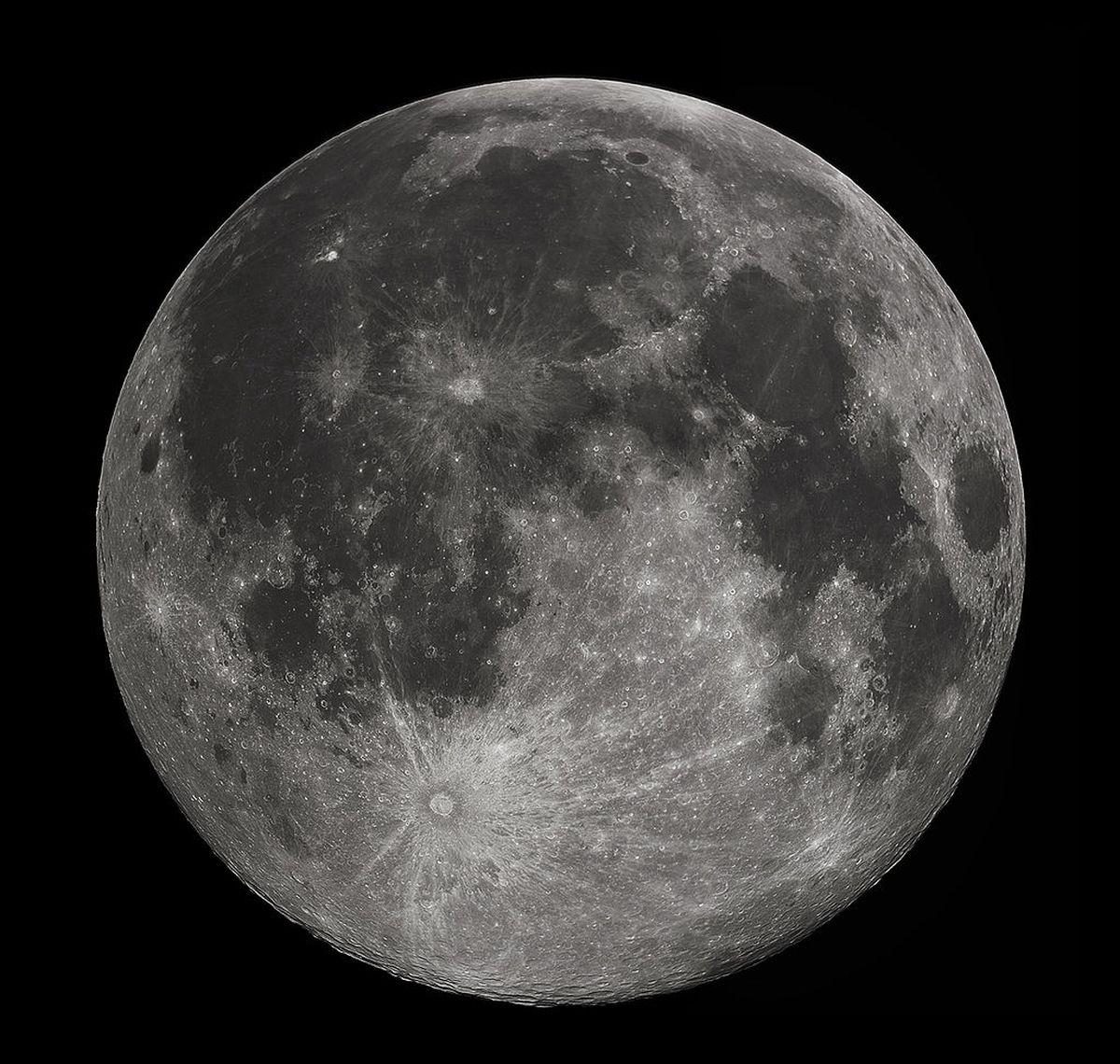 Luna oggi 24 aprile 2019