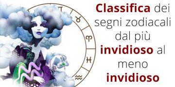 Segni zodiacali dal meno invidioso al più invidioso: la classifica