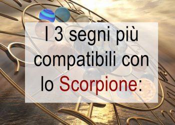 Affinità con lo Scorpione i 3 segni più compatibili per chi è di questo segno