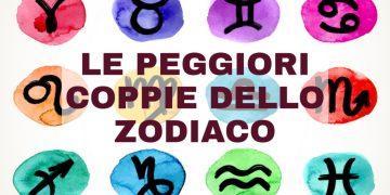 Le peggiori coppie di segni zodiacali
