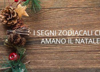 I segni zodiacali che amano il Natale