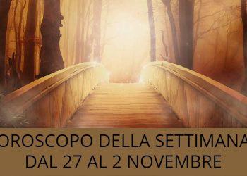 Oroscopo della settimana dal 27 al 2 novembre: le previsioni delle stelle