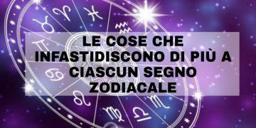 Le cose che infastidiscono di più a ciascun segno zodiacale