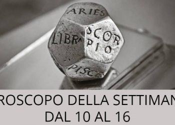Oroscopo della settimana dal 10 al 16 novembre