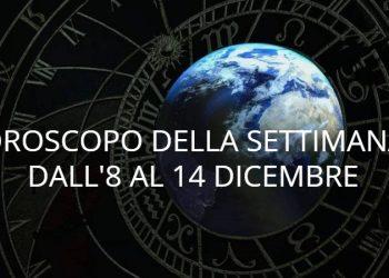 Oroscopo della settimana dall' 8 al 14 dicembre