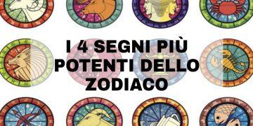 I segni più potenti dello zodiaco sono 4: ecco chi sono