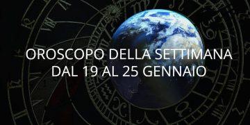 Oroscopo della settimana dal 19 al 25 gennaio 2020