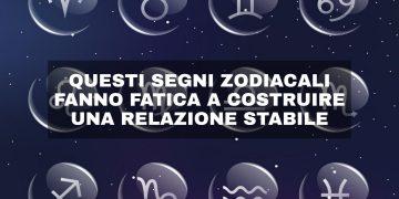 Perché questi segni zodiacali non hanno una relazione stabile
