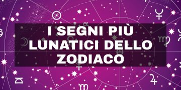 I segni zodiacali più lunatici