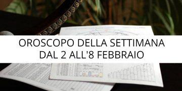 Oroscopo della settimana dal 2 all'8 febbraio 2020