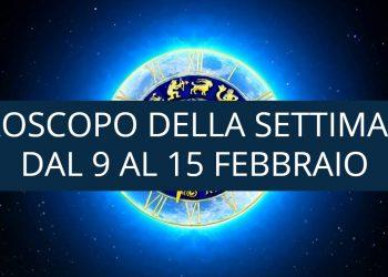 Oroscopo della settimana dal 9 al 15 febbraio 2020
