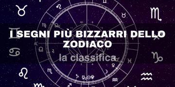 La classifica dei segni più bizzarri dello zodiaco