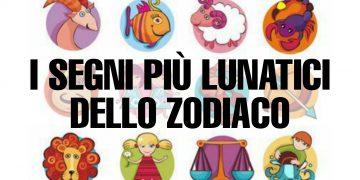 I lunatici dello zodiaco: scopri chi sono